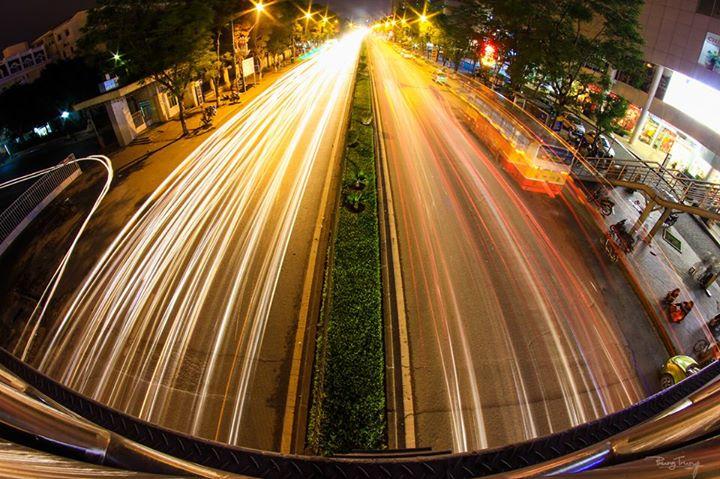 Đường Xuân Thủy, Cầu Giấy - Phơi sáng đêm cho người mới