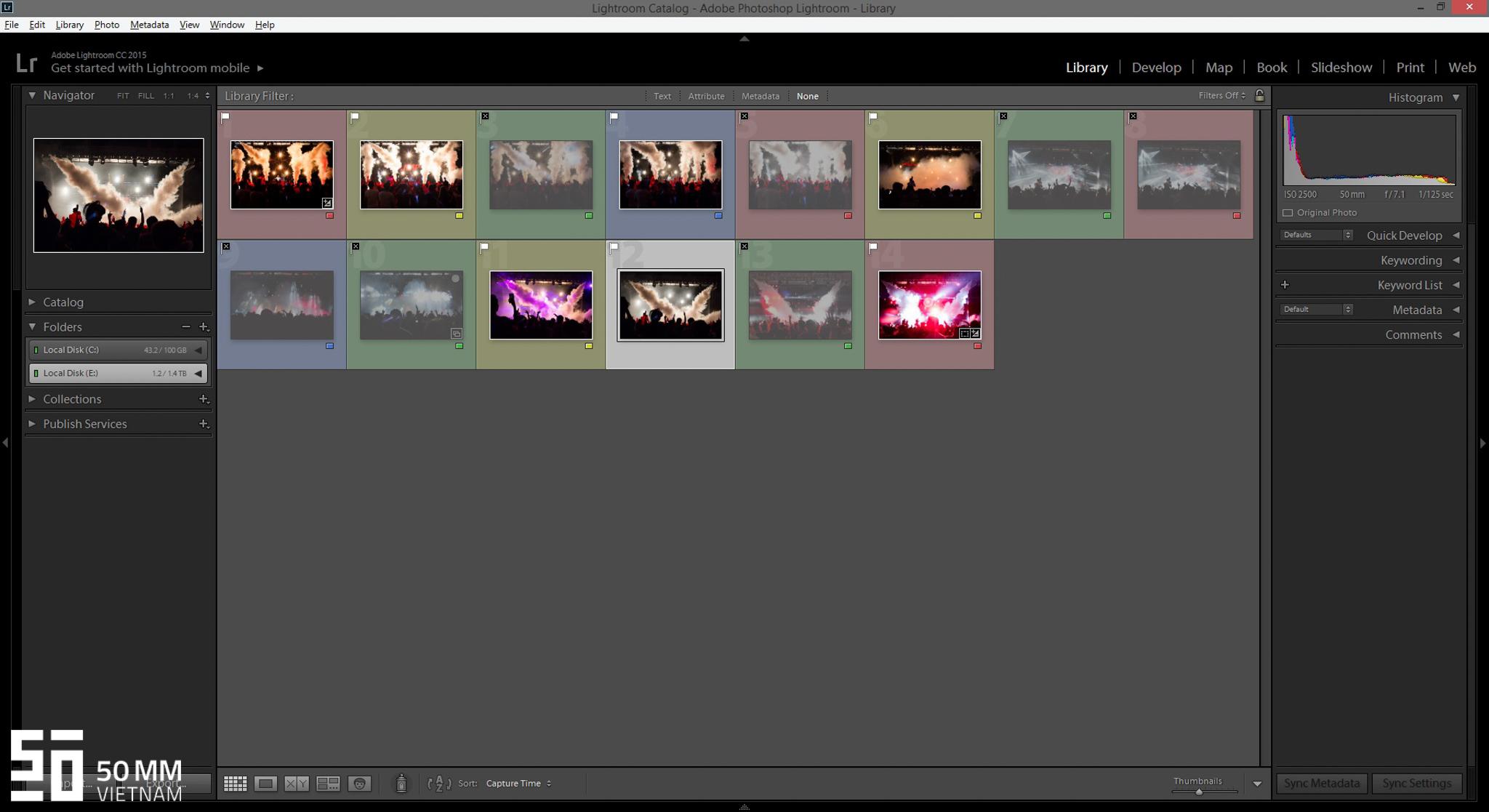 24 phím tắt hữu ích dành cho những người mới sử dụng Adobe Photoshop Lightroom