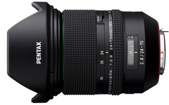 HD Pentax-D FA 24-70mm f2.8 ED SDM WR - Tin vắn ngày 7/10/2015: Pentax hé lộ át chủ bài? - 50mm Vietnam