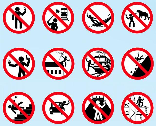 Biển Cấm Selfie - Selfie bây giờ còn nguy hiểm hơn cả Cá Mập! - 50mm Vietnam