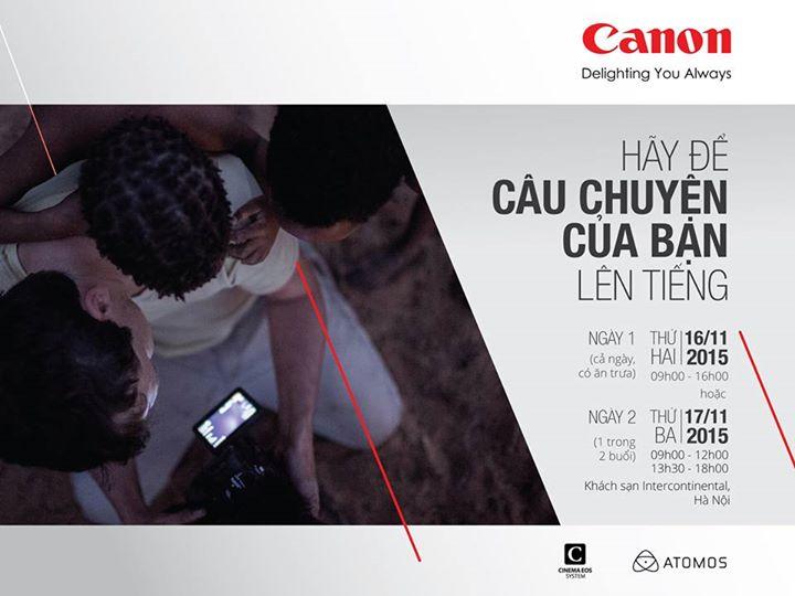 Workshop: Học quay phim cùng Still Motion - 50mm Vietnam