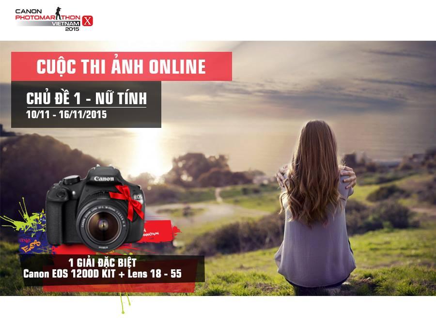 Tham dự ngay Cuộc Thi Ảnh Online do Canon tổ chức! - 50mm Vietnam
