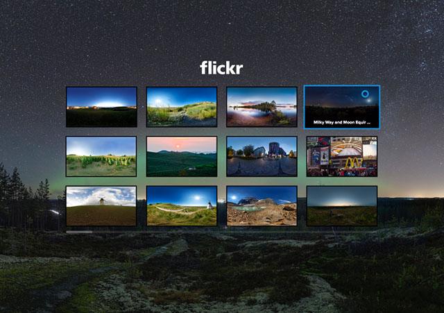 Flickr tham gia chiến trường thực tế ảo 360 độ cùng với Samsung Gear VR | 50mm Vietnam