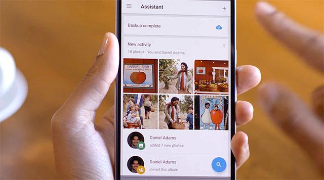 Google Photos cho phép người dùng cùng nhau tạo album | 50mm Vietnam