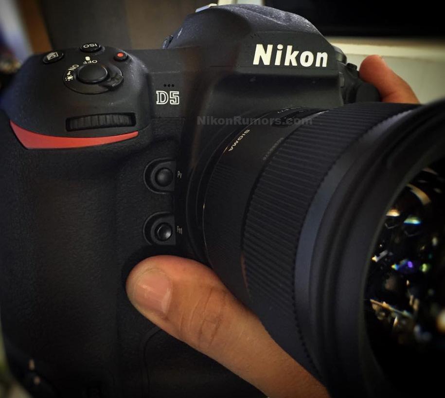 Nikon D5 - Đầu tàu Nikon lộ diện! | 50mm Vietnam