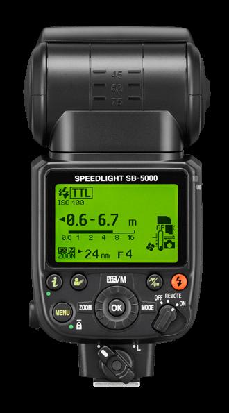 SB-5000 - Đèn flash đầu tiên dùng sóng Radio của Nikon | 50mm Vietnam