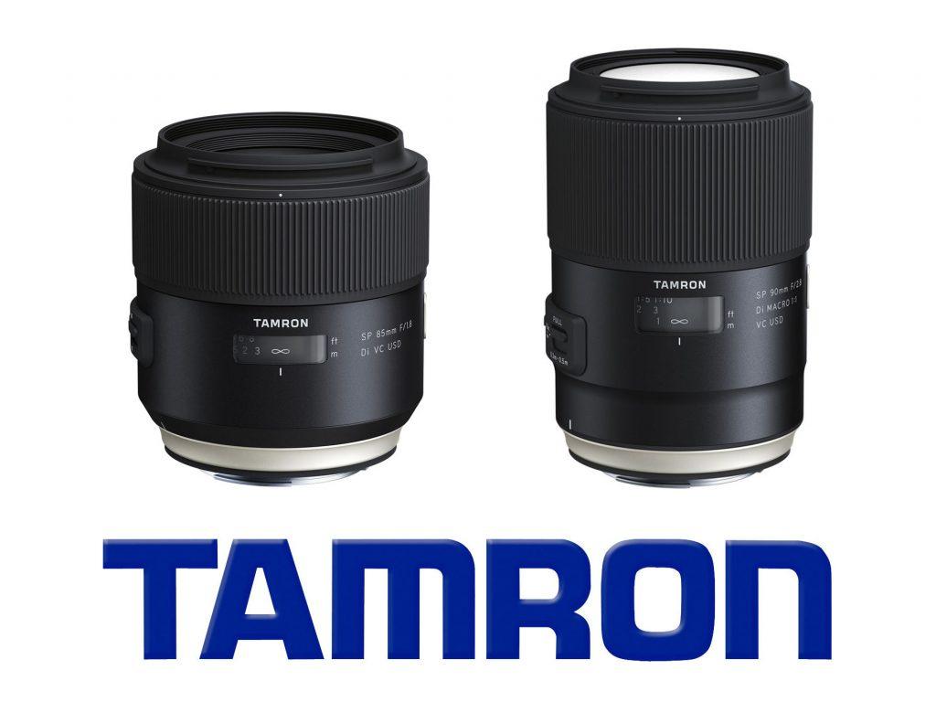 Tamron tung ra hai ống kính mới: 85mm f/1.8 VC và 90mm f/2.8 VC Macro | 50mm Vietnam