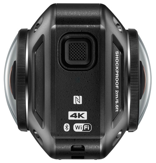 Nikon KeyMission 360: 4K Action Camera quay 360 độ của Nikon | 50mm Vietnam