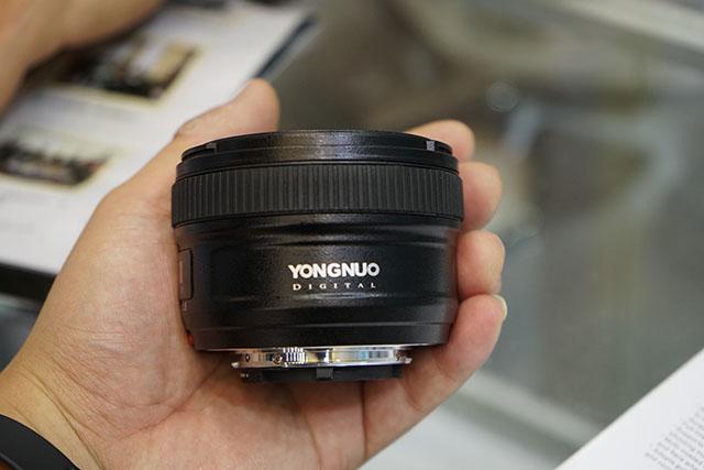 Yongnuo trình làng ống 50mm cho Nikon | 50mm Vietnam