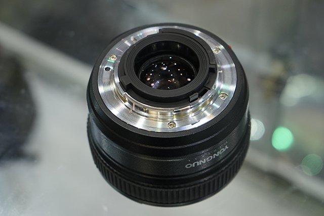 Yongnuo trình làng ống 50mm cho Nikon   50mm Vietnam