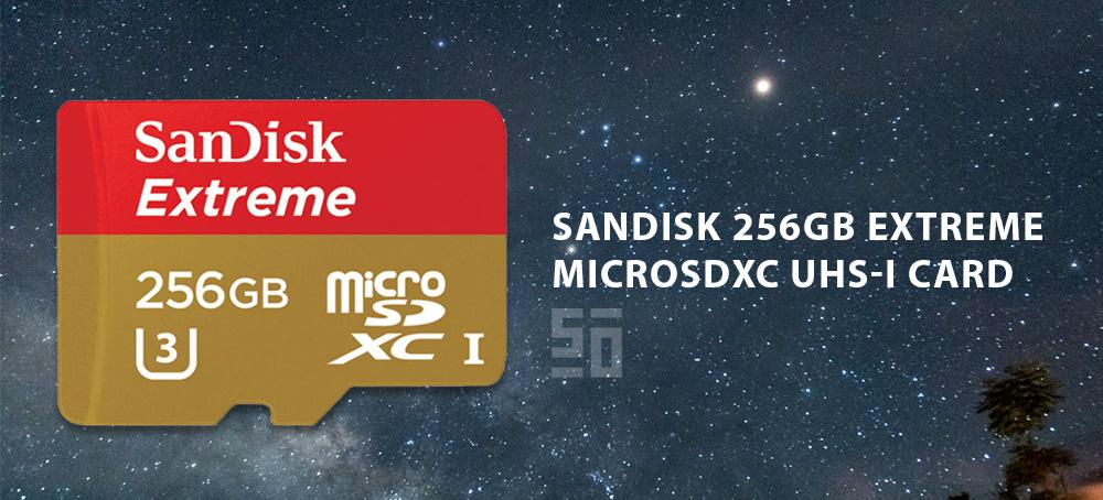 Sandisk microSDXC - Dung lượng lớn nhất và nhanh nhất! | 50mm Vietnam