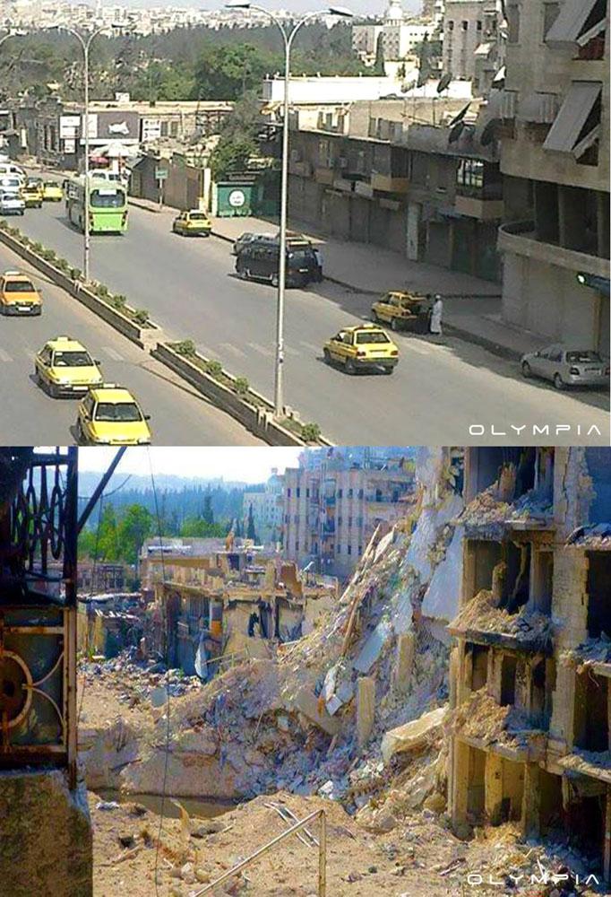 Syria - Vùng đất của chiến tranh và nước mắt   50mm Vietnam