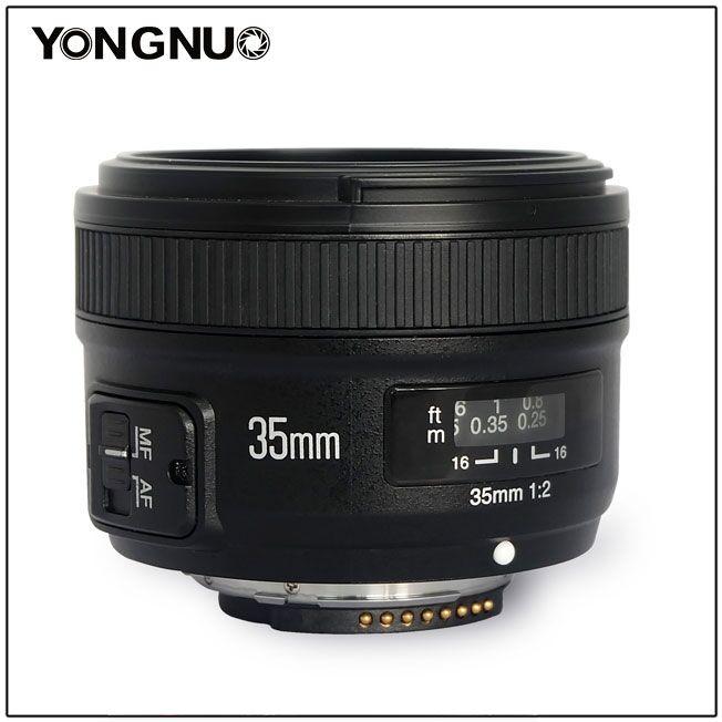 YN 35mm f/2 - Liên khúc giá rẻ của Yongnuo | 50mm Vietnam Official Site