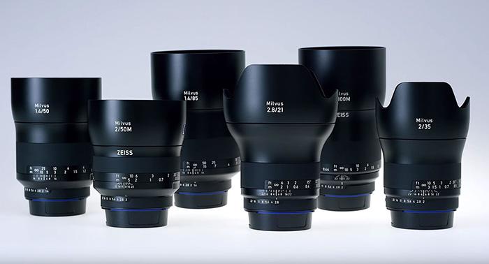 Zeiss ra tiếp 3 ống kính dòng Milvus cho Canon và Nikon | 50mm Vietnam