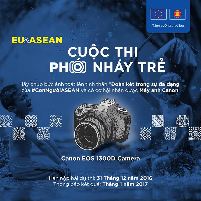 Đi tìm những ''Phó nháy Trẻ EU-ASEAN'' | 50mm Vietnam Official Site