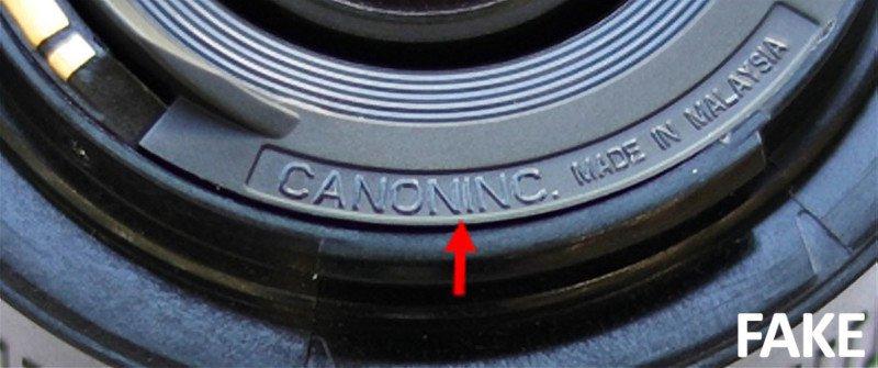 Ống kính Canon 50mm f/1.8 giả xuất hiện! | 50mm Vietnam