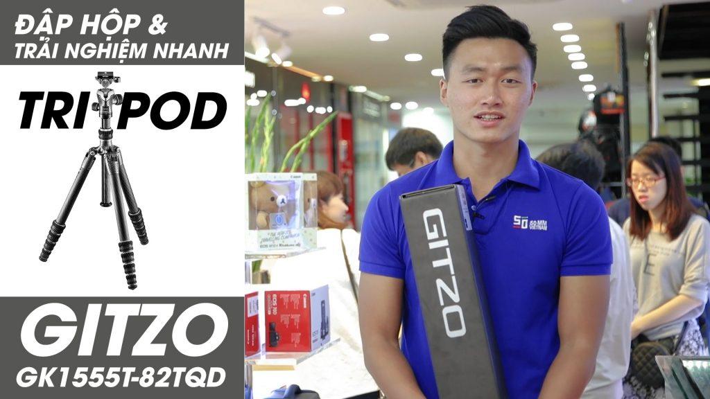 Đập hộp Tripod 20 triệu - Gitzo GK1555T-82TQD   50mm Vietnam Official Site