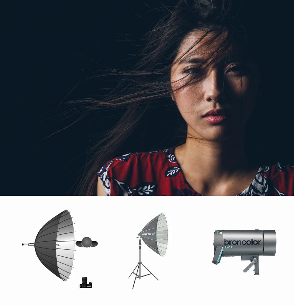 Mỏ vàng tài liệu hướng dẫn về nghệ thuật đánh sáng của Broncolor | 50mm Vietnam
