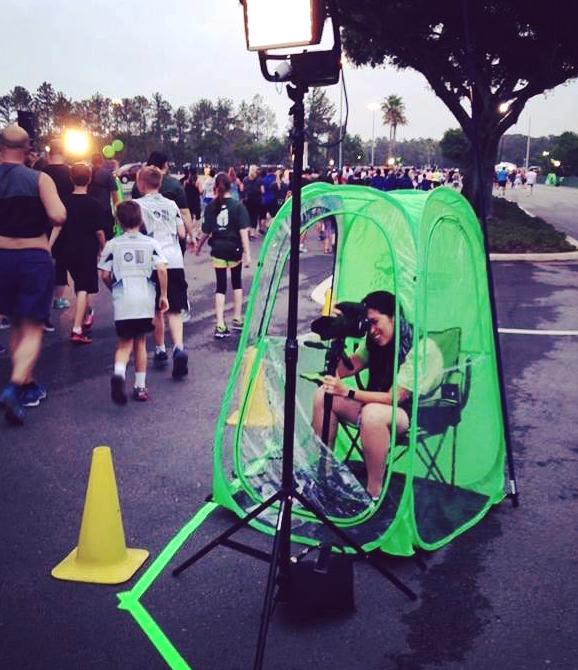 Gạt bỏ nỗi lo thời tiết với lều chụp ảnh Photo Pod | 50mm Vietnam