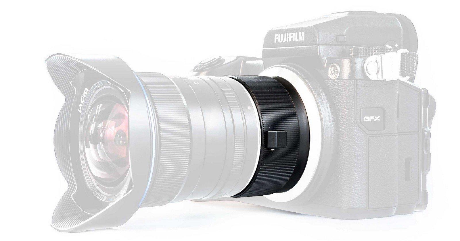 Laowa và mẫu ngàm chuyển dành riêng cho Fujifilm GFX | 50mmVietnam