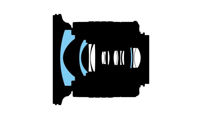 Nikon Nikkor AF-P 10-20mm f/4.5 – 5.6G VR DX Lens Construct