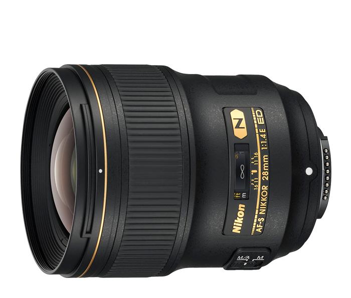 Nikon Nikkor AF-S 28mm f/1.4E ED