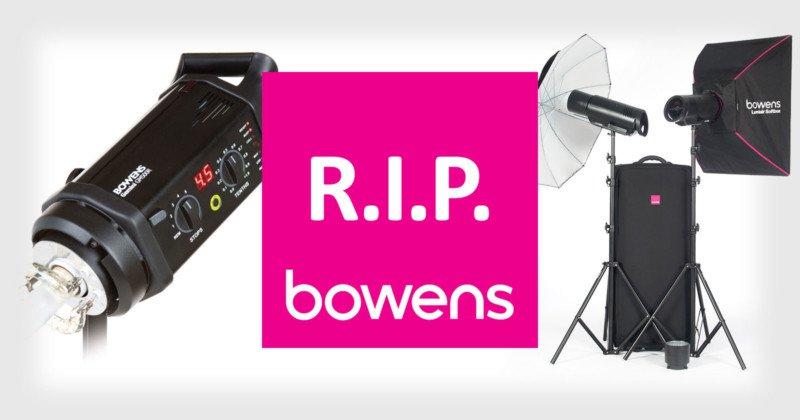 Bowens đóng cửa sau 94 năm hoạt động! Là lỗi của người Trung Quốc?   50mm Vietnam