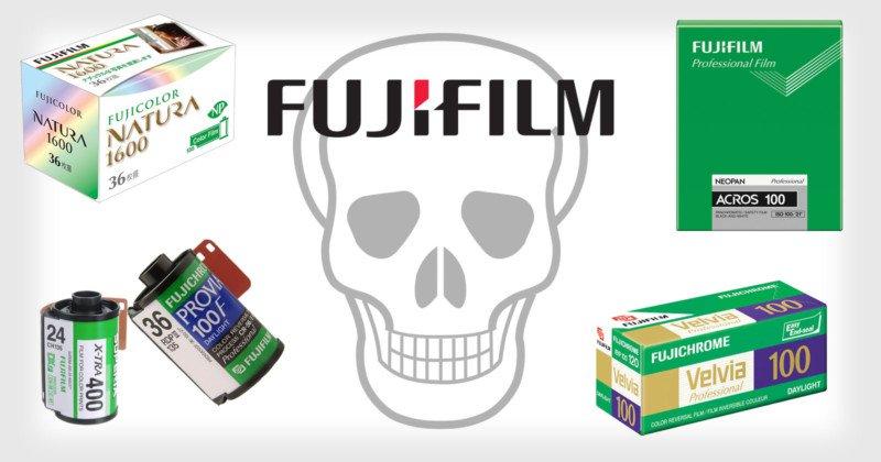 Tin đau lòng: Fujifilm ngừng sản xuất hàng loạt phim trong năm 2018 ! | 50mm Vietnam