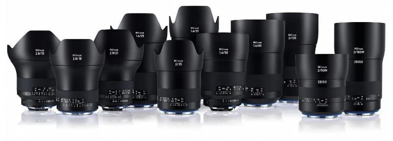 Zeiss ra mắt ống kính Milvus 25mm f/1.4 cho Canon và Nikon | 50mm Vietnam