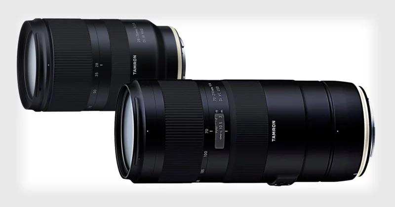 Tamron chuẩn bị ra mắt ống kính 28-75mm f2.8 cho Sony và 70-210mm f4 cho Canon và Nikon   50mm Vietnam
