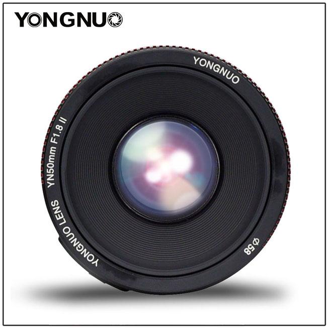 Yongnuo ra mắt ống kính YN 50mm f/1.8 mark II - Viền đỏ như ai! | 50mm Vietnam