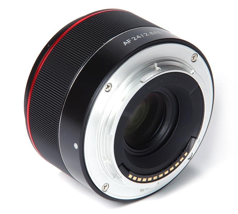 Samyang ra mắt ống kính pancake 24mm auto-focus cho Sony | 50mm Vietnam