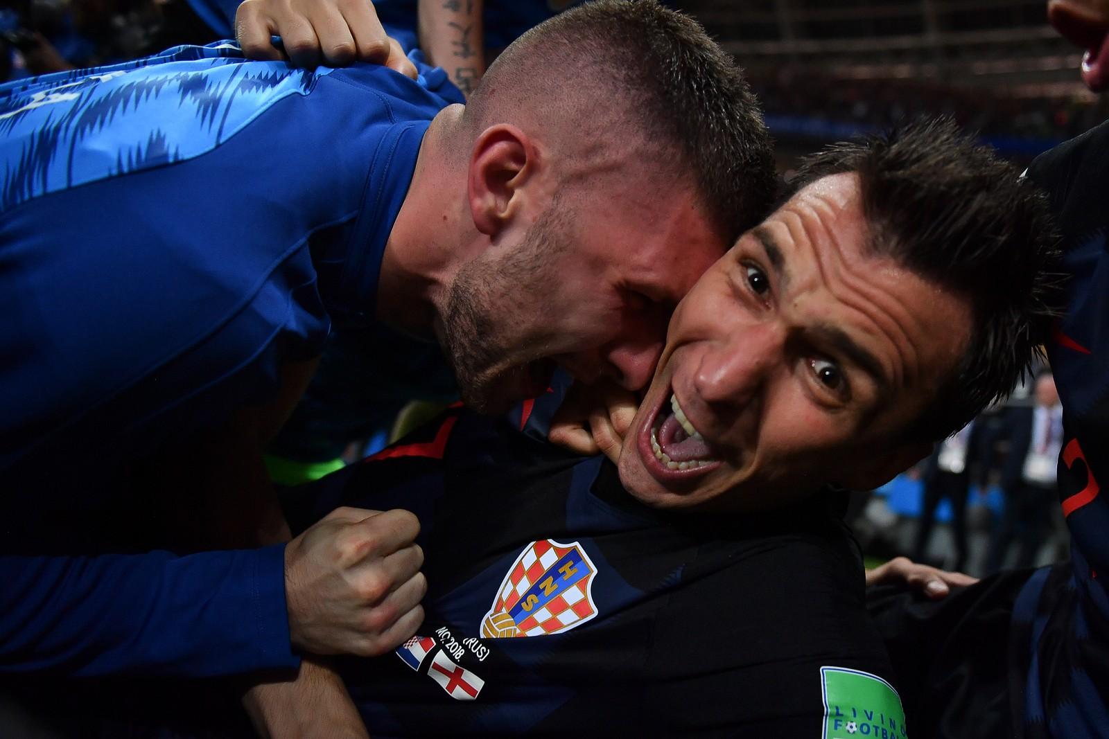 Những bức ảnh độc đáo của đội tuyển Croatia sau bàn thắng quyết định bán kết World Cup 2018 | 50mm Vietnam
