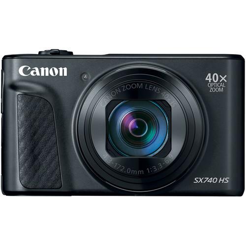 Canon ra mắt chiếc compact PowerShot SX740 HS có thể quay phim 4K | 50mm Vietnam