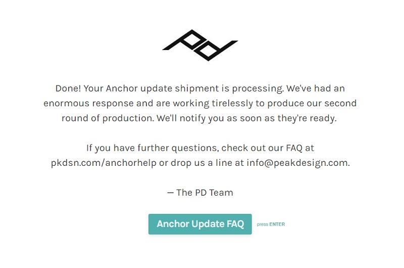Peak Design sẽ đổi cho bạn Anchor Link V4 miễn phí   50mm Vietnam