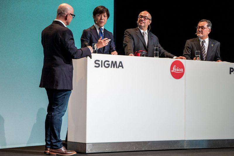 họp báo Photokina với Leica, Panasonic, Sigma