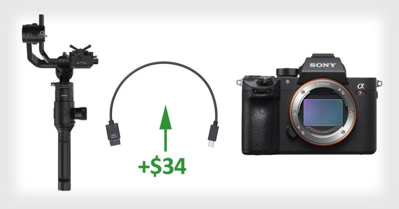 """Cộng đồng Sony fan """"làm loạn"""" đòi cọng cáp MCC-Multi miễn phí từ DJI   50mm Vietnam"""