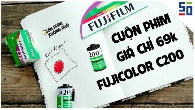 Cuộn phim giá chỉ 69K cho mọi kiểu chụp: FUJICOLOR C200   Tập 7   Lên Phim Xuống Phố   50mm Vietnam