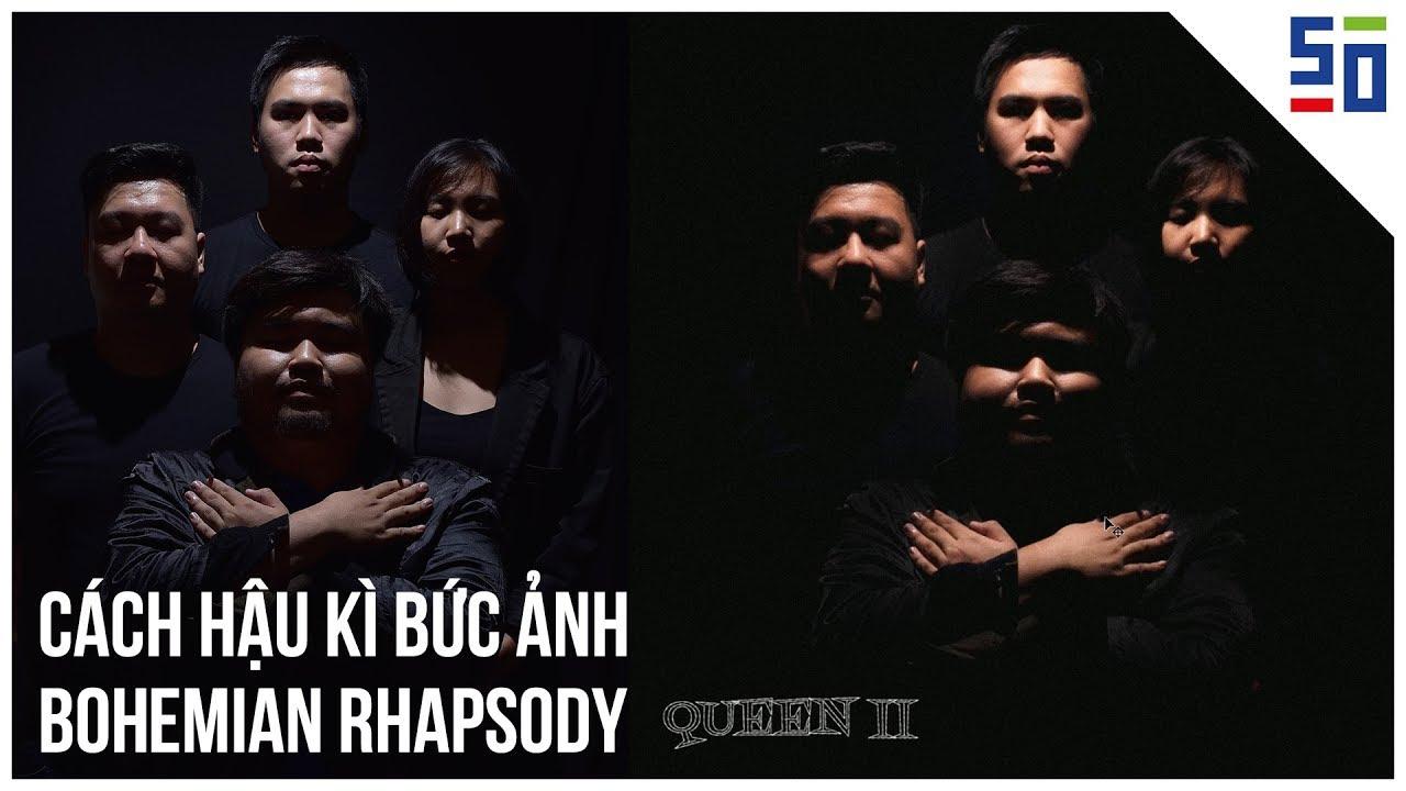 Chỉnh ảnh CHÂN DUNG như phim Bohemian Rhapsody bằng PHOTOSHOP   Tập 6   Phòng tối 50mm   50mm Vietnam Official Site