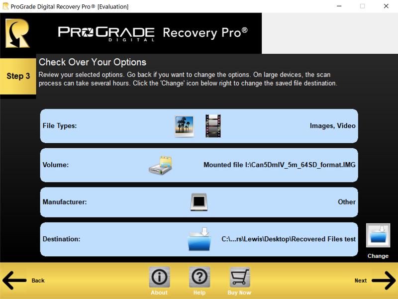 ProGrade Recovery Pro - Công cụ phục hồi dữ liệu mạnh mẽ | 50mm Vietnam
