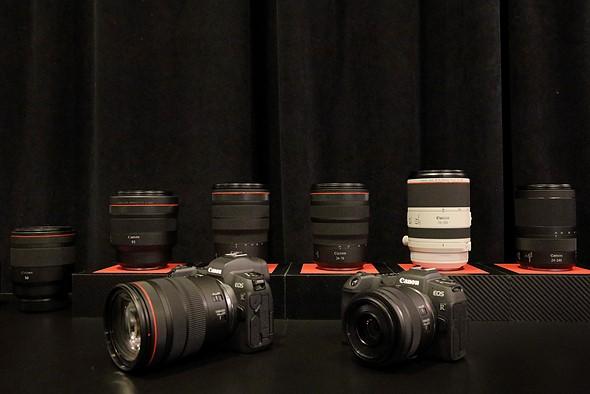 Dàn ống kính RF mới ra mắt - nguồn: DPreview
