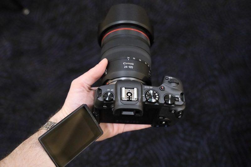 Canon ra mắt EOS RP: Nhỏ, nhẹ và kém ấn tượng | 50mm Vietnam
