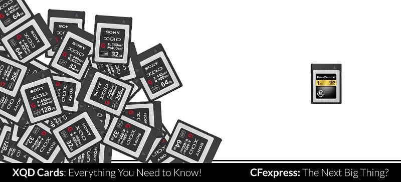 Sony công bố dòng CFexpress thay thế XQD | 50mm Vietnam